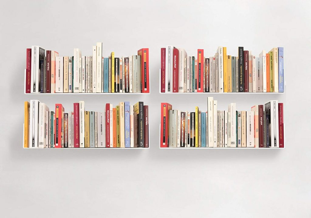 Floating Bookshelves 1