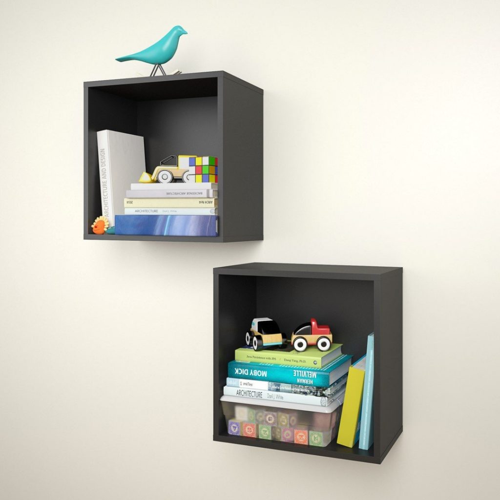 Floating Cube Bookshelves 1