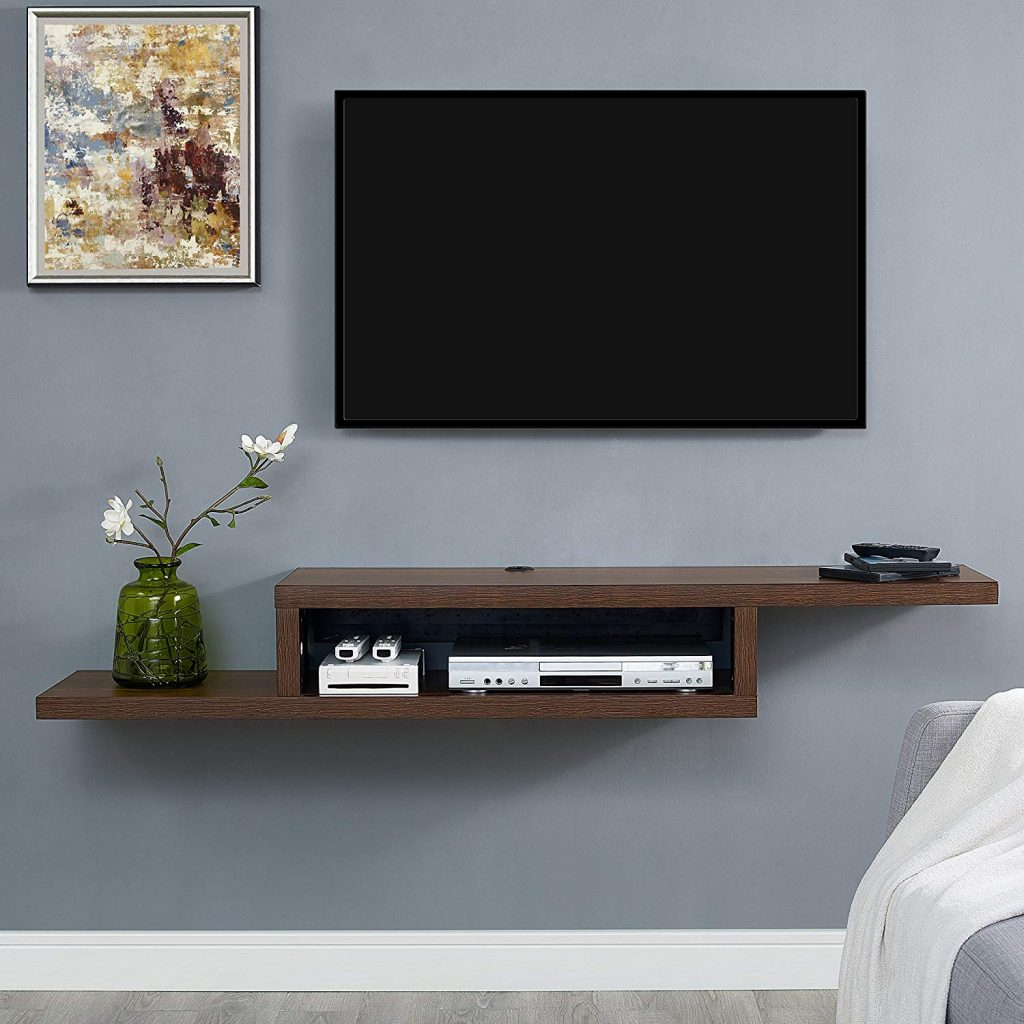 Floating Shelves For TV 1