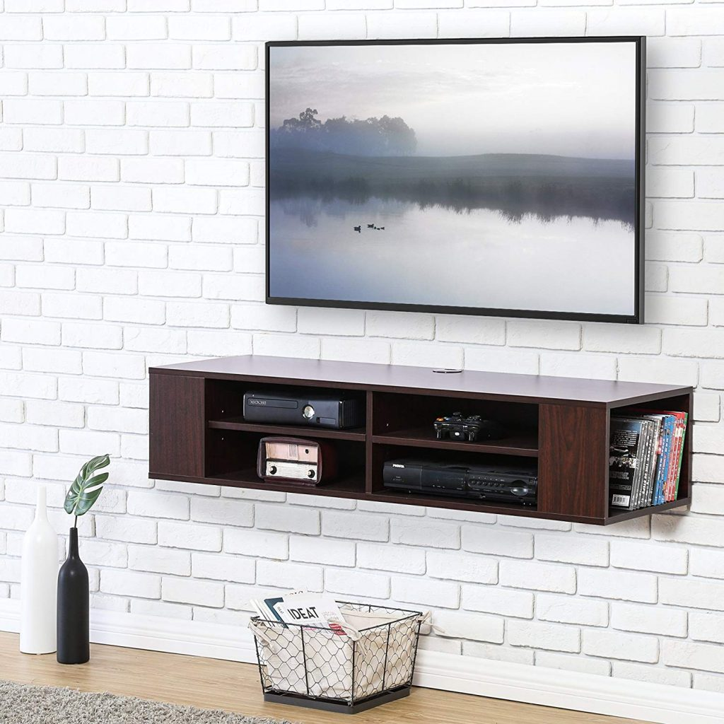 Floating Shelves For TV 4