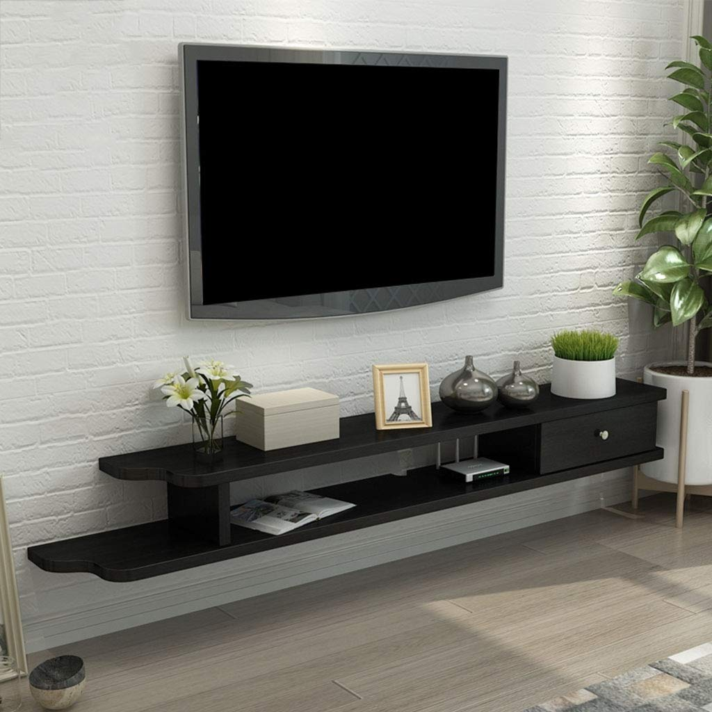 Add Beauty To Your Television With Modern Floating Shelves For Tv