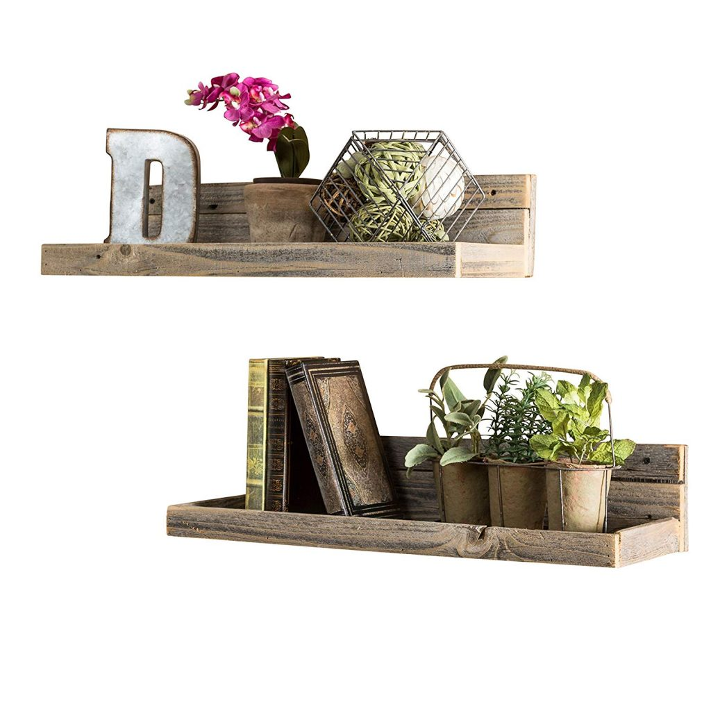Floating Wood Shelves 4