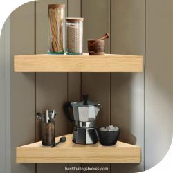 floating corner shelves mini